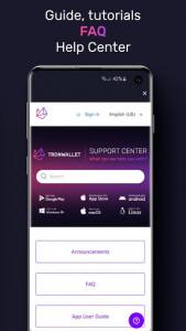 اسکرین شات برنامه TronWallet: Bitcoin Blockchain Wallet 8