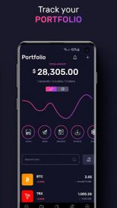 اسکرین شات برنامه TronWallet: Bitcoin Blockchain Wallet 4