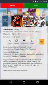 اسکرین شات برنامه My Board Game Collection 3