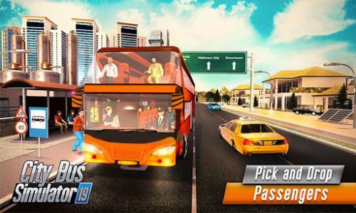 اسکرین شات برنامه Euro Bus Driver Simulator 3D: City Coach Bus Games 3