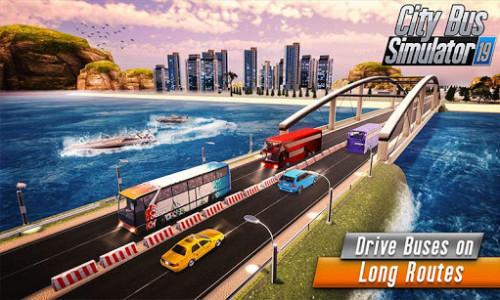 اسکرین شات برنامه Euro Bus Driver Simulator 3D: City Coach Bus Games 4