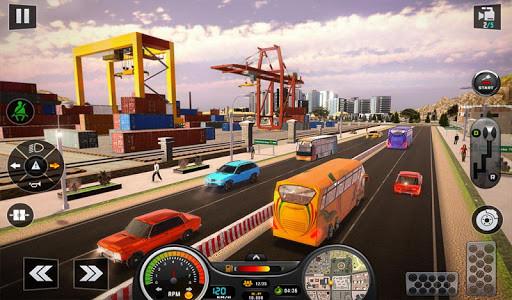 اسکرین شات برنامه Euro Bus Driver Simulator 3D: City Coach Bus Games 7