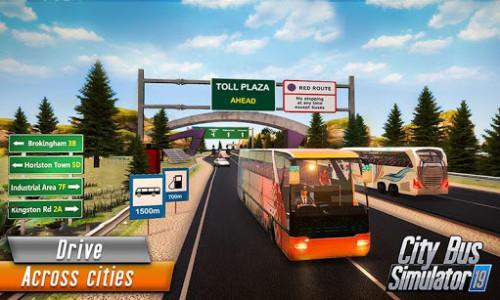 اسکرین شات برنامه Euro Bus Driver Simulator 3D: City Coach Bus Games 2