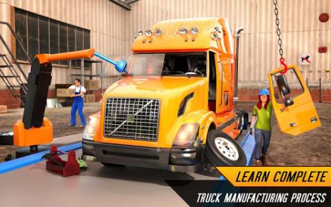 اسکرین شات بازی Truck Builder Auto Repair Mechanic Simulator Games 6