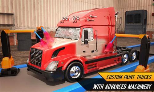 اسکرین شات بازی Truck Builder Auto Repair Mechanic Simulator Games 5