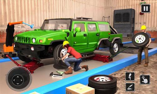 اسکرین شات بازی Truck Builder Auto Repair Mechanic Simulator Games 2