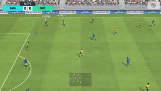 اسکرین شات بازی Soccer Game Mobile 1