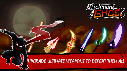 اسکرین شات بازی Stickman Shost: Ninja Warrior Action Offline Game 8