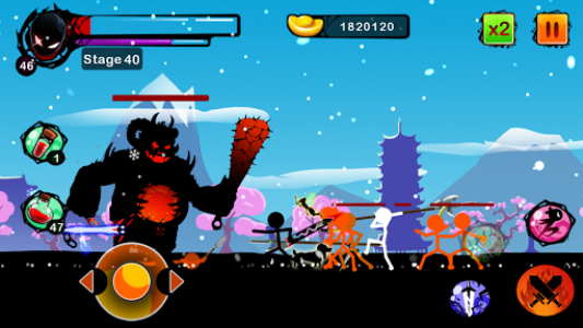 اسکرین شات بازی Stickman Shost: Ninja Warrior Action Offline Game 5