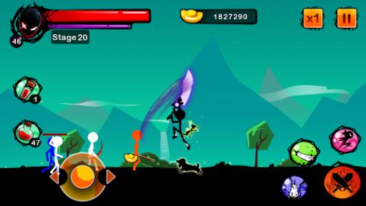 اسکرین شات بازی Stickman Shost: Ninja Warrior Action Offline Game 6