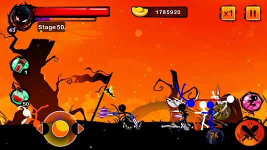 اسکرین شات بازی Stickman Shost: Ninja Warrior Action Offline Game 4