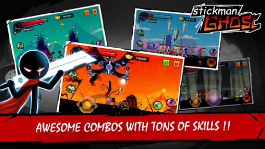 اسکرین شات بازی Stickman Shost: Ninja Warrior Action Offline Game 1