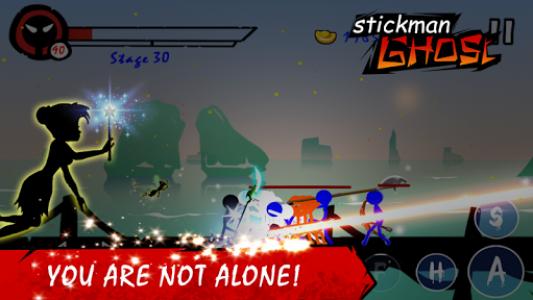 اسکرین شات بازی Stickman Shost: Ninja Warrior Action Offline Game 3