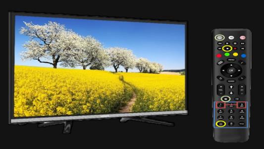اسکرین شات برنامه Free Universal Tv Remote Control for any LCD 3