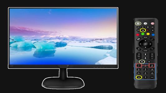 اسکرین شات برنامه Free Universal Tv Remote Control for any LCD 1
