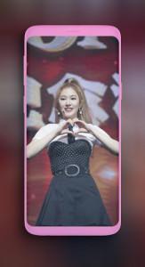 اسکرین شات برنامه Everglow Mia wallpaper Kpop HD new 4