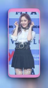 اسکرین شات برنامه Everglow Mia wallpaper Kpop HD new 1