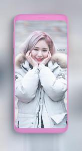 اسکرین شات برنامه Everglow Mia wallpaper Kpop HD new 2