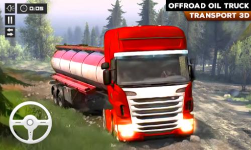 اسکرین شات بازی Oil Tanker Truck Transport Cargo Driving Simulator 1