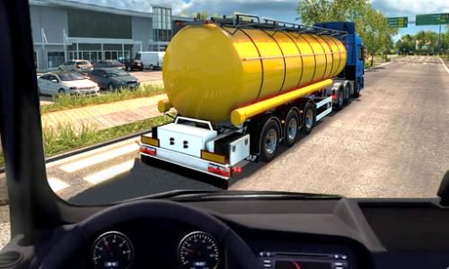 اسکرین شات بازی Oil Tanker Truck Transport Cargo Driving Simulator 4