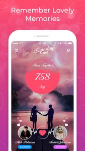 اسکرین شات برنامه Been Together - Countdown love days 2021 2