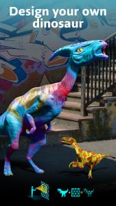 اسکرین شات برنامه Monster Park AR - Jurassic Dinosaurs in Real World 6
