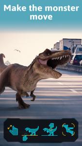 اسکرین شات برنامه Monster Park AR - Jurassic Dinosaurs in Real World 4