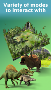 اسکرین شات برنامه Monster Park AR - Jurassic Dinosaurs in Real World 5