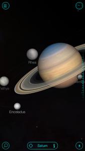 اسکرین شات برنامه Solar Walk Free - Explore the Universe and Planets 3