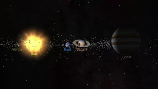 اسکرین شات برنامه Solar Walk Free - Explore the Universe and Planets 8