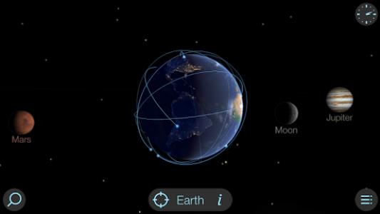 اسکرین شات برنامه Solar Walk Lite - Planetarium 3D: Planets System 6