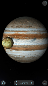 اسکرین شات برنامه Solar Walk Lite - Planetarium 3D: Planets System 2