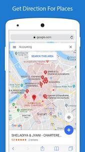 اسکرین شات برنامه Voice GPS Driving Directions - GPS Navigation 7