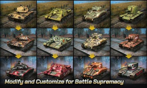 اسکرین شات بازی Tank Legion PvP MMO 3D tank game for free 4