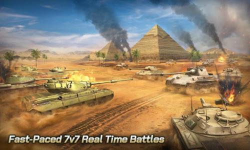 اسکرین شات بازی Tank Legion PvP MMO 3D tank game for free 3