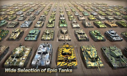 اسکرین شات بازی Tank Legion PvP MMO 3D tank game for free 2