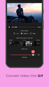 اسکرین شات برنامه Video Converter & Video Clip Editor Free  - VShot 4