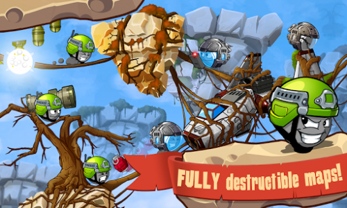 اسکرین شات بازی Warlings: Armageddon 5