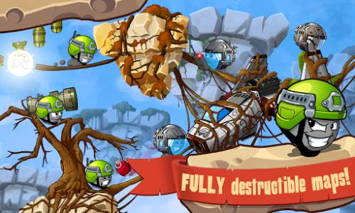 اسکرین شات بازی Warlings: Armageddon 1