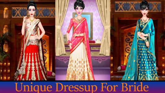 اسکرین شات بازی Indian Wedding Makeup 1