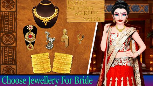 اسکرین شات بازی Indian Wedding Makeup 4