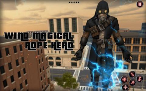اسکرین شات برنامه wind magical rope hero 5