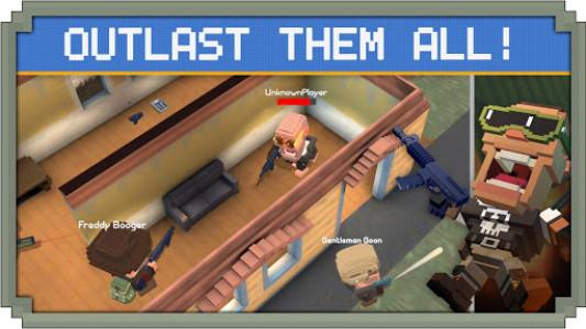 اسکرین شات بازی Guns Royale - Multiplayer Blocky Battle Royale 1