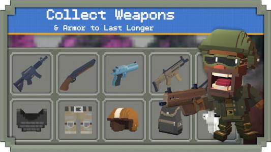 اسکرین شات بازی Guns Royale - Multiplayer Blocky Battle Royale 3
