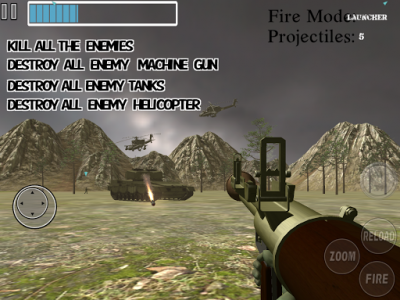 اسکرین شات بازی Amazing Sniper :  Sniper Reloaded Mission FPS Game 6