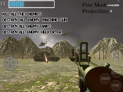 اسکرین شات بازی Amazing Sniper :  Sniper Reloaded Mission FPS Game 1