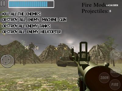 اسکرین شات بازی Amazing Sniper :  Sniper Reloaded Mission FPS Game 5
