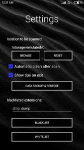 اسکرین شات برنامه Smart Clean by XtrasZone 4