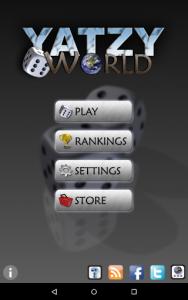 اسکرین شات بازی Yatzy World 6