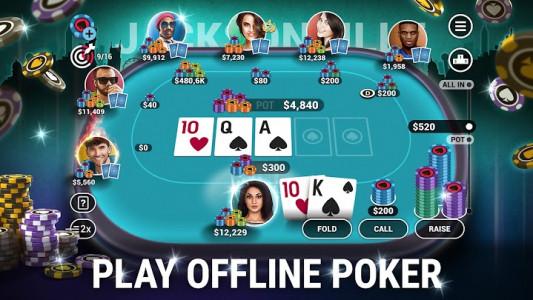 اسکرین شات بازی Poker World - Offline Texas Holdem 1
